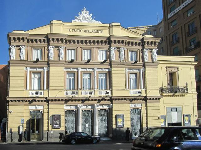 Neapel - Theater Mercadante